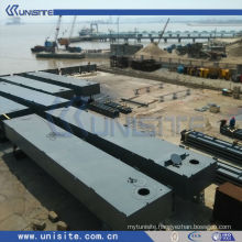 water floating platform for marine building and dredging (USA-2-006)
